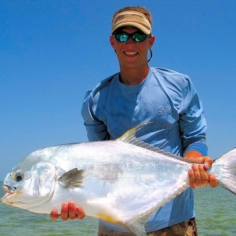 Islamorada Permit On Fly
