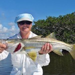 Islamorada Snook On Fly